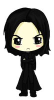 Snape Chibi by IcyPanther1