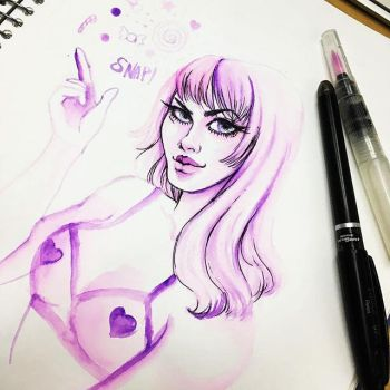 Inktober 2016 - part 4 by hitomi--i