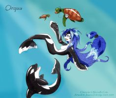 Orqua at Play - Finished by kellendraysia