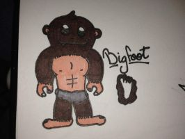 My Epic Critters~Bigfoot by ScenePika