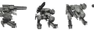 Metal Gear Rex by PeanutButterWerewolf