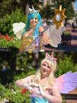 MLP:FiM - Princesses of Light and Love by Eli-Cosplay