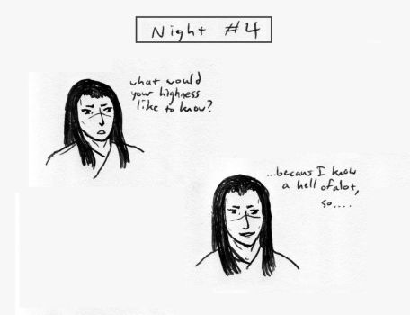 Sex Ed for the Emperor - Night #4 - Yun by haius