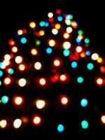 christmas lights by Luciferica
