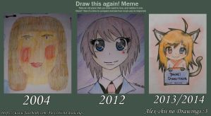 Draw this Again - Meme by Alex-Chii