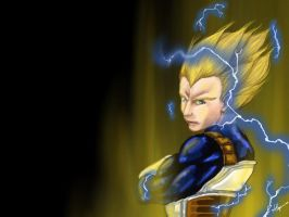 Vegeta by Ababuforever