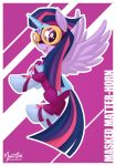 Power Pony - Twilight as Masked Matter-horn by mysticalpha