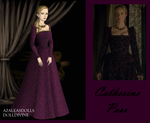 Catherine Parr in Purple by msbrit90