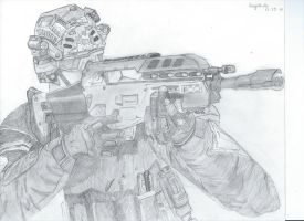 Call of Duty : Black Ops by Drawing4Hope