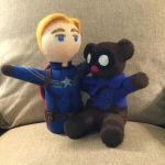 Steve Rogers and Bucky Bear by sarabi