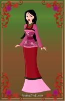 Valentine's day Mulan by CartoonNetworkgal