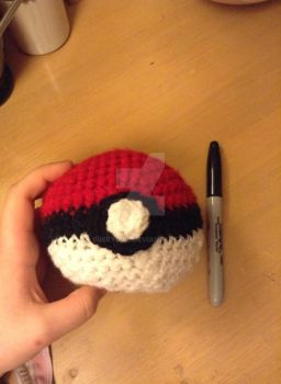 Pokeball Plushie .::FOR SALE::. by Suskygirl