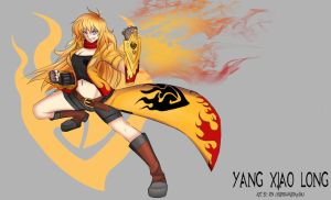 RWBY - Yang Xiao Long by KurokamiRin