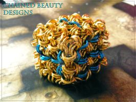 Chainmaille Dice - D6 by ChainedBeauty