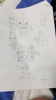Birthday Gift for Lord Of Evil Terror by JinNeko12