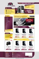 Electronic Store Website by Elad-M
