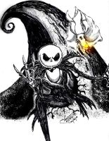 Nightmare Before Christmas by xoxoyellowxoxo