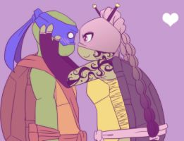 .:TMNT Leo and Ro:. by Dawnrie