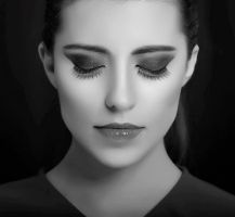 black and white glam by RoseEmma