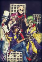 The team by LittleSakis-Aubade