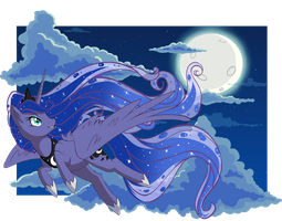 Princess Luna by LethalPepsi