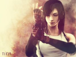 Tifa by xCaliKidx