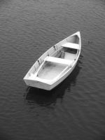 Traditional Downeast Rowboat by davincipoppalag