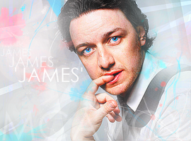 James McAvoy by aanaru