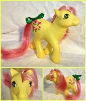 My Little Pony G1 Posey restore by Capnchan