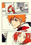 Bleach 675: Ichigo and Orihime by kiraDaidohji