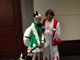 Anime Weekend Atlanta 2014-Youmu and Meira by jay421501