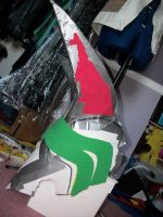 Progress - Cale -  Helm 2 by Halosage
