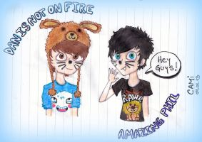 Dan and Phil! by CamiGDrocker