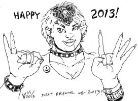 Happy 2013! by melallensink