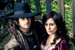 Van Helsing and Anna Valerious cosplay by ilPas