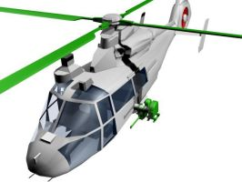 WZ-9 helicopter by senor-freebie