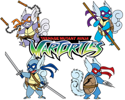 TEENAGE MUTANT NINJA WARTORTLES by Novanator