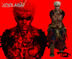 Asuras Wrath - Asura (No Arms) by TRDaz