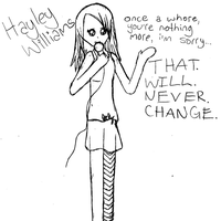 Hayley Williams - Paramore by loverlyness