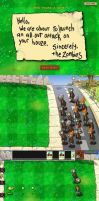 Plants vs Zombies - The Zombie Invasion of 2014 by RazorVolare
