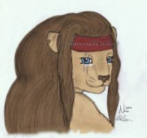 Pirate day 2010 Lioness Pirate by KeenerArt