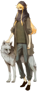 Wolf and The Golden by kissai