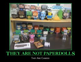 Cubee Motivational - Paperdoll by 7ater