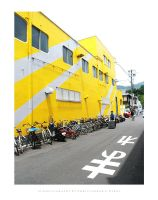 21 Bikes and Yellow by dremt