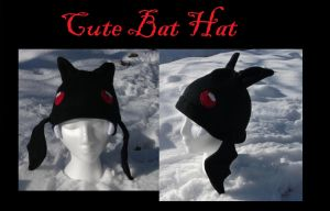 Cute Bat Hat by Zinrea