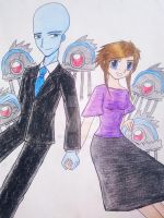 Couple and Brainbots by e31
