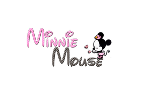Minnie Mouse PNG by LadyHipsterCreations
