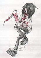 Jeff The Killer by KittyLoner