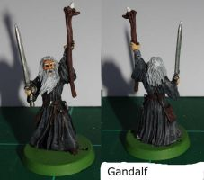 Gandalf the Grey - Lord of the Rings by SarienSpiderDroid