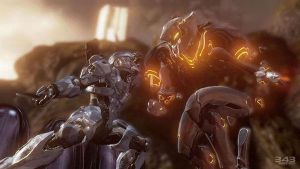 Halo 4 | Spartan lV and Promethean Knigth by Goyo-Noble-141
